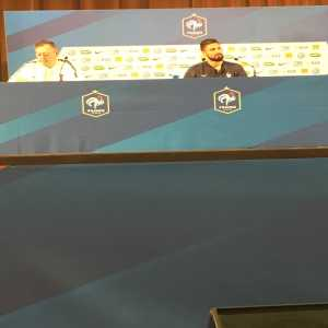 """Giroud in press conference: """"I'd be happy to show Thierry Henry he chose the wrong side"""" *smiling*"""