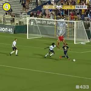 Crazy final seconds of an NASL game between North Carolina FC and Charleston Battery