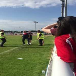Video of the dispute between Sligo fans and management