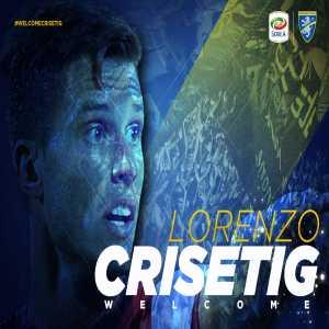 Official: Frosinone sign Italian midfielder Lorenzo Crisetig on loan from Bologna