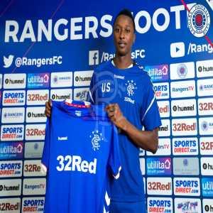 Rangers sign Roma's Umar Sadiq on season long loan