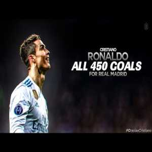 Cristiano Ronaldo All 450 Goals For Real Madrid w/ English Commentary.