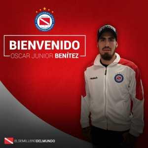Official: Oscar Benítez joins Argentino Juniors on loan from SL Benfica