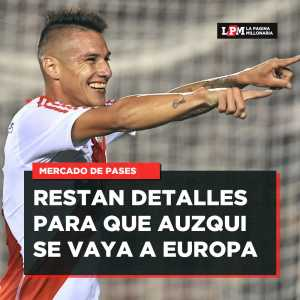 River Plate's Carlos Auzqui is very close to a transfer to Leganes