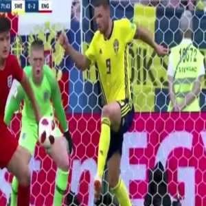 A compilation of Pickford's best saves at the World Cup