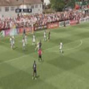 Boreham Wood 0-1 Arsenal - Pierre-Emerick Aubameyang 7'