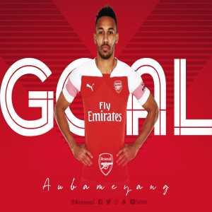 Boreham Wood 0-3 Arsenal - Pierre-Emerick Aubameyang (Hat Trick goal)
