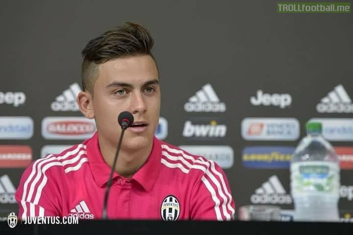 Reporter: How do you feel, the best player in the world is coming to your club?  Dybala: Is Messi coming to Juventus too?  😂😂🔥