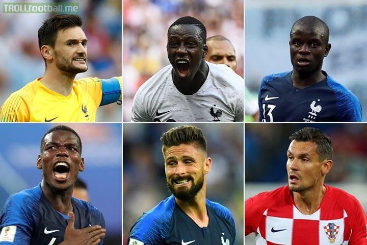 6️⃣ Premier League stars eye WorldCupFinal glory 🏆  🇫🇷 or 🇭🇷?