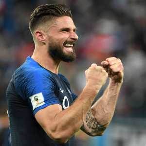 Arsenal's Twitter: From Grenoble to Istres From Tours to Montpellier From Arsenal to a regular for #FRA And now… a #WorldCup winner! What a journey you've had, Olivier - we're all so pleased for you