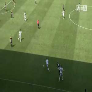 [Derby County] 18 passes, 9 players involved, 1 clinical finish...Luke Thomas' 2nd Goal today was a stunner