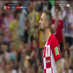 Griezmann dive vs Croatia