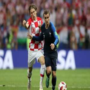 Griezmann wins MOTM of the World Cup Final