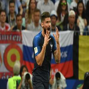 Olivier Giroud didn't attempt a single shot on target in 546 minutes
