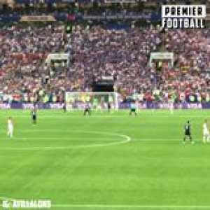Paul Pogba puts France 3-1 up against Croatia!