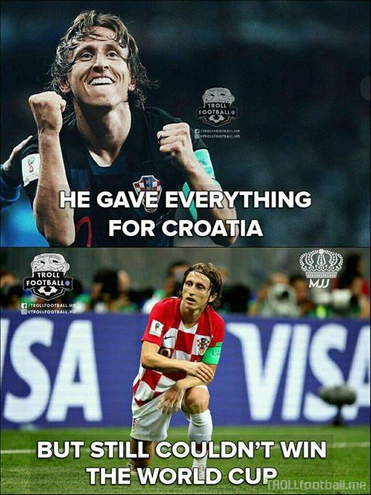 You Gotta Feel Sad For Luka Modric.😭😭