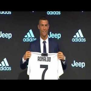 Cristiano Ronaldo Official Juventus Jersey Unvealing and Presentation