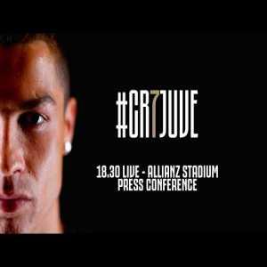 LIVE: Cristiano Ronaldo's Juventus Press Conference! #CR7DAY