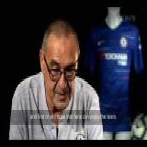Sarri first interview at Chelsea FC [Chelsea TV]