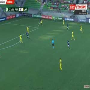 France U19 [1]-1 Ukraine U19 - Rafik Guitane 23'