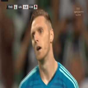 Legia 2-0 Cork City [3-0 on agg.] - Miroslav Radovic penalty 73'
