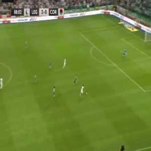Legia 3-0 Cork City [4-0 on agg.] - Carlitos Lopez 89'