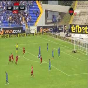Levski Sofia 0-1 Vaduz [0-2 on agg.] - Mohamed Coulibaly 25'