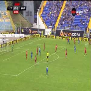 Levski Sofia [1]-1 Vaduz [1-2 on agg.] - Sergiu Bus 35'