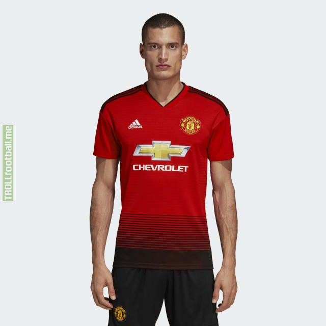 pretty nice 4b26a 44502 Official Manchester United Home Kit for the 18/19 Season ...