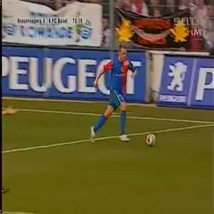 Throwback to this corner kick by Petric and Rakitic