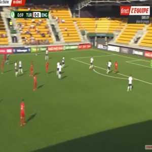 Turkey U19 1-0 England U19 - Guven Yalcin 2'