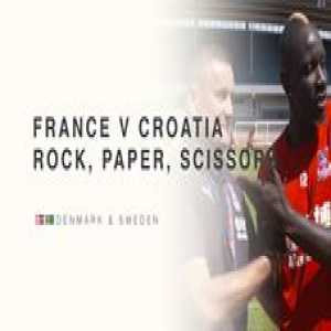 We've seen France v Croatia in the FIFA World Cup final ⚽️  What we all want to see is France v Croatia in 'Rock, Paper, Scissors' 👊📃✂️  📽 Crystal Palace Football Club