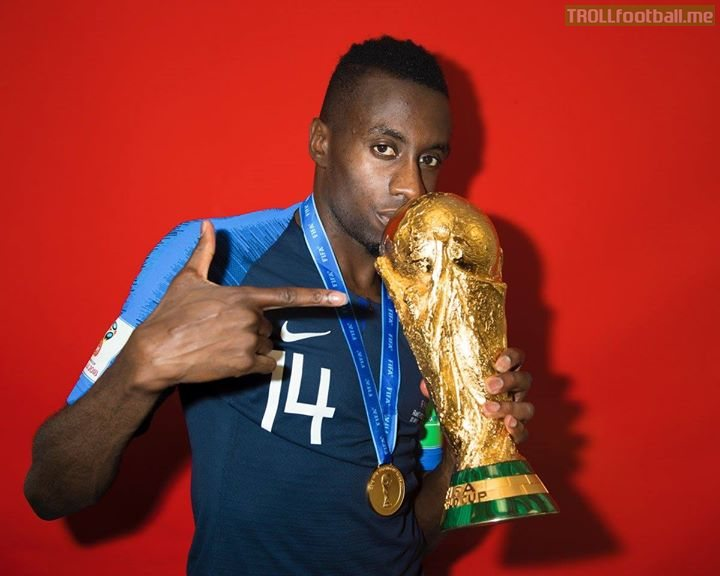 "Blaise Matuidi:   ""Cristiano Ronaldo is the best player on the planet, knowing that he will play with us is great. Of course, it is for him too, he gets to share the dressing room with a world champion!"""