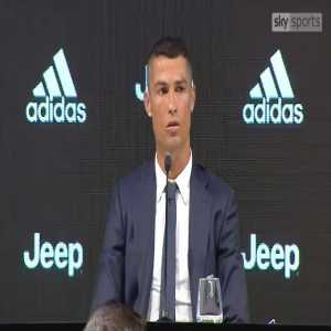 Cristiano Ronaldo 'it was an easy decision' (to join Juventus)