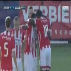 PSV 1-0 Galatasaray - Steven Bergwijn 41'
