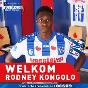 SC Heerenveen sign Rodney Kongolo from Manchester City