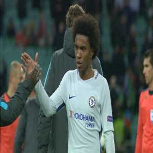Willian is Barcelona's next transfer target. His price has been set at €80 million