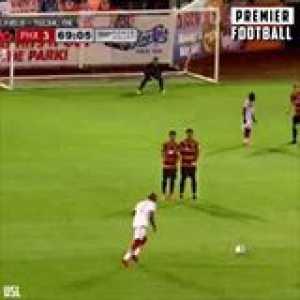 Didier Drogba is the king of USL free-kicks 🔥