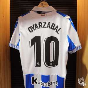 Oyarzabal has been given the number 10, vacated last season by Real Sociedad legend Xabi Prieto!