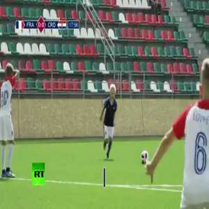 These kids actually 're-enacted' the 2018 World Cup Final match between Croatia and France
