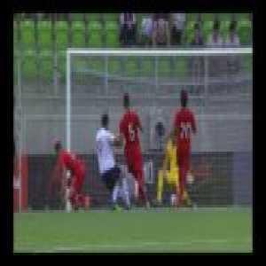Amine Gouiri second goal against Turkey U19 (0-3)