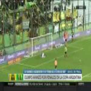 Another Superliga Argentina team falls victim to Copa Argentina carnage as Aldosivi blows a 3-1 lead on penalties and is eliminated by Olimpo