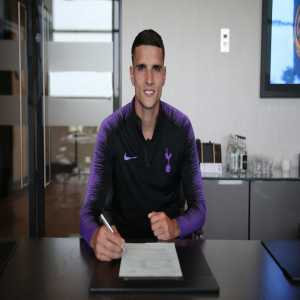 Erik Lamela signs new contract with Tottenham until 2022