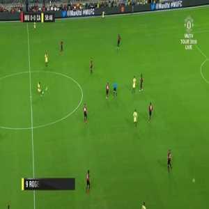 Martin Goal - Manchester United 0 vs 1 América
