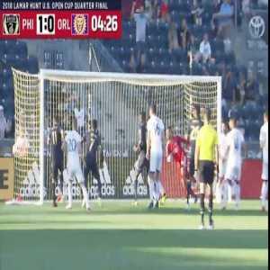 Philadelphia Union vs. Orlando City SC - Highlights & Goals - US OPEN CUP 2017/2018