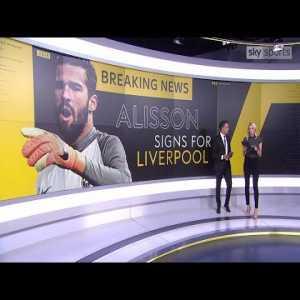 "REACTION: ""world-class goalkeeper"" Jurgen Klopp on Alisson"