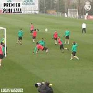 Real Madrid always go hard in training 🔥  They scored some absolute screamers last season 👏🏼