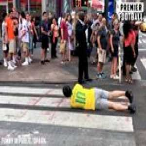 The Neymar Challenge is too funny 😂😂  Funny in Public QPark