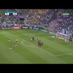 Bruno Henrique (Palmeiras) scores an amazing free kick against Atletico-MG