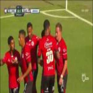 Bryan Rabello screamer vs. Santos - Lobos BUAP [1]-0 Santos